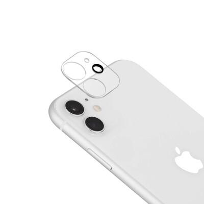 Protector Cámara Trasera iPhone 11-Cristal Templado