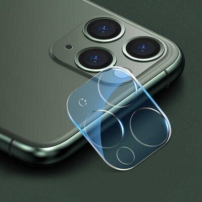 Protector Cámara Trasera iPhone 11 Pro Max-Cristal Templado