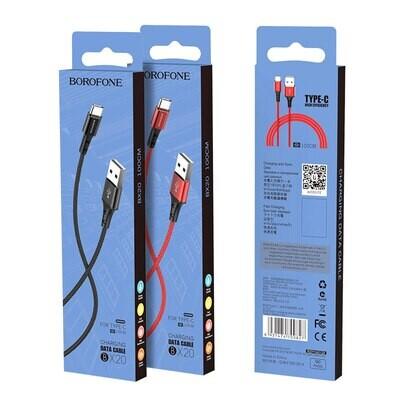Cable Borofone Tipo-C
