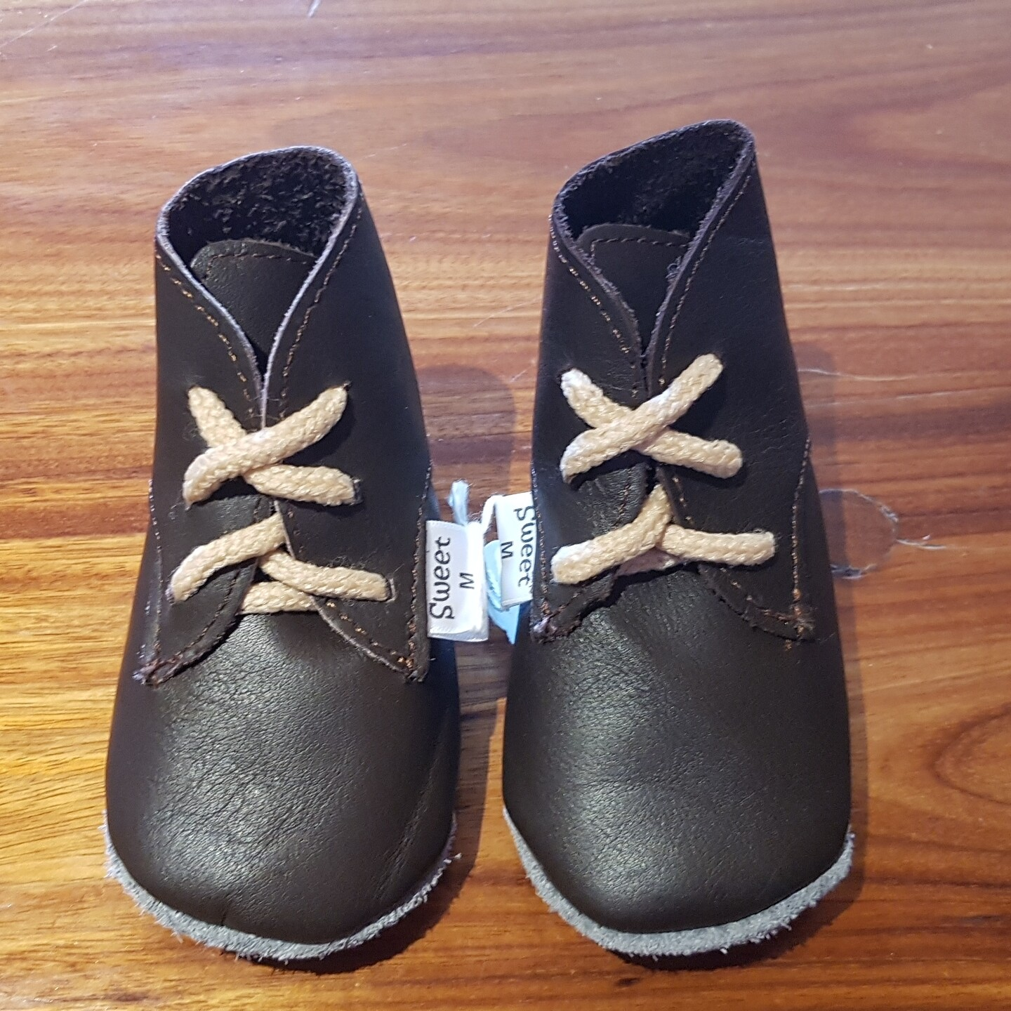Leather Brown Vellies