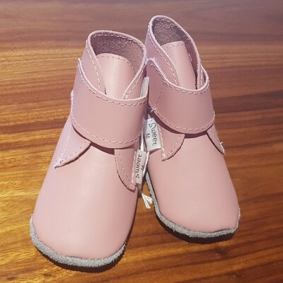 Pink Bootie with Strap