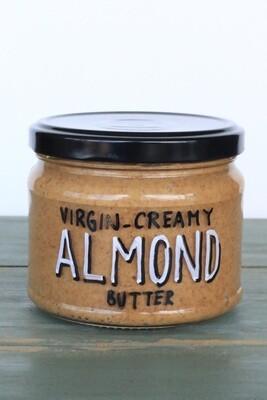 Almond Butter Creamy كريمة زبدة اللوز (Jar) - Celine Home Made Delights