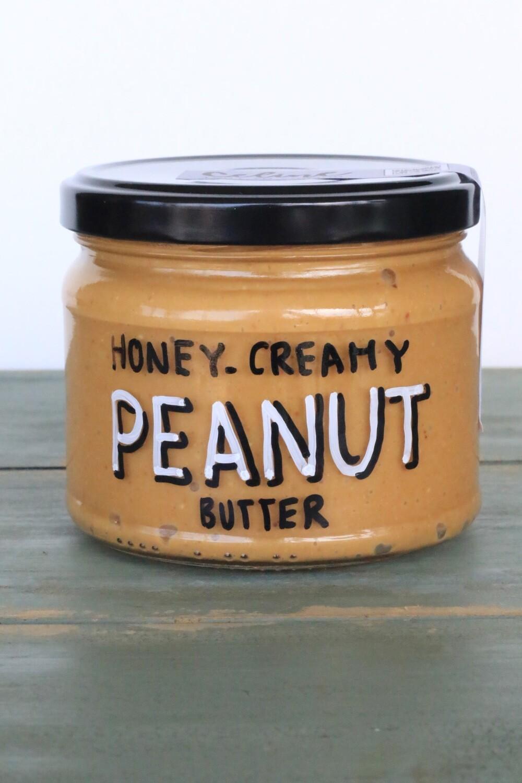 Peanut Butter Honey Creamy دهن زبدة الفول السوداني عسل كريم (Jar) - Celine Home Made Delights