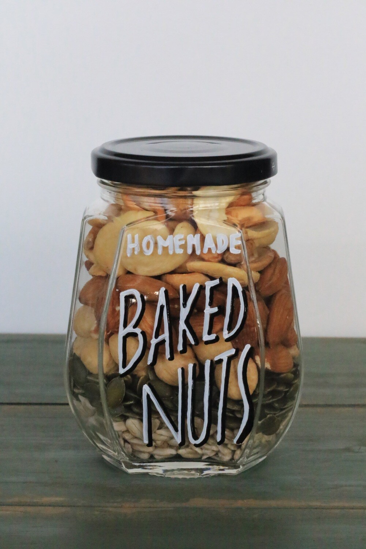 Nuts Baked المكسرات المخبوزة (Jar) - Celine Home Made Delights