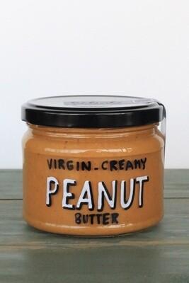 Peanut Butter Virgin Creamy دهن زبدة الفول السوداني عادي كريم (Jar) - Celine Home Made Delights