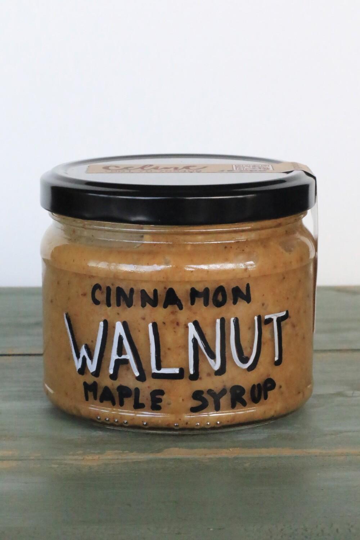 Walnut Butter Cinnamon Maple Syrup شراب القيقب والقرفة بزبدة الجوز (Jar) - Celine Home Made Delights