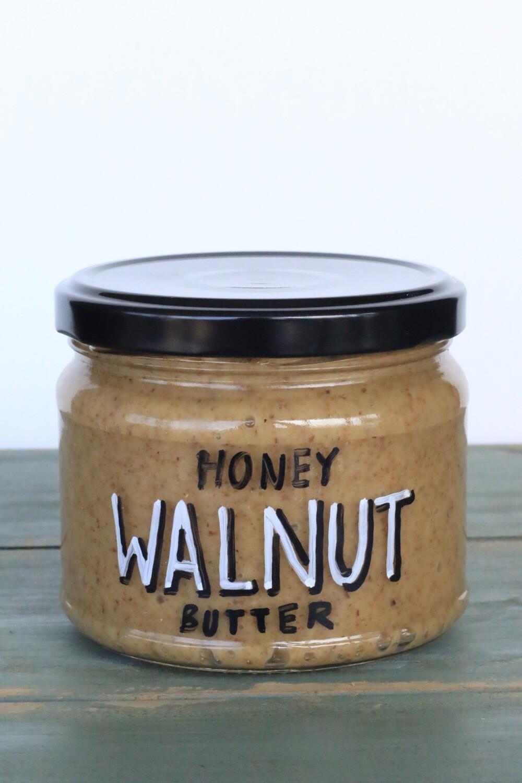 Walnut Butter Honey عسل زبدة الجوز (Jar) - Celine Home Made Delights