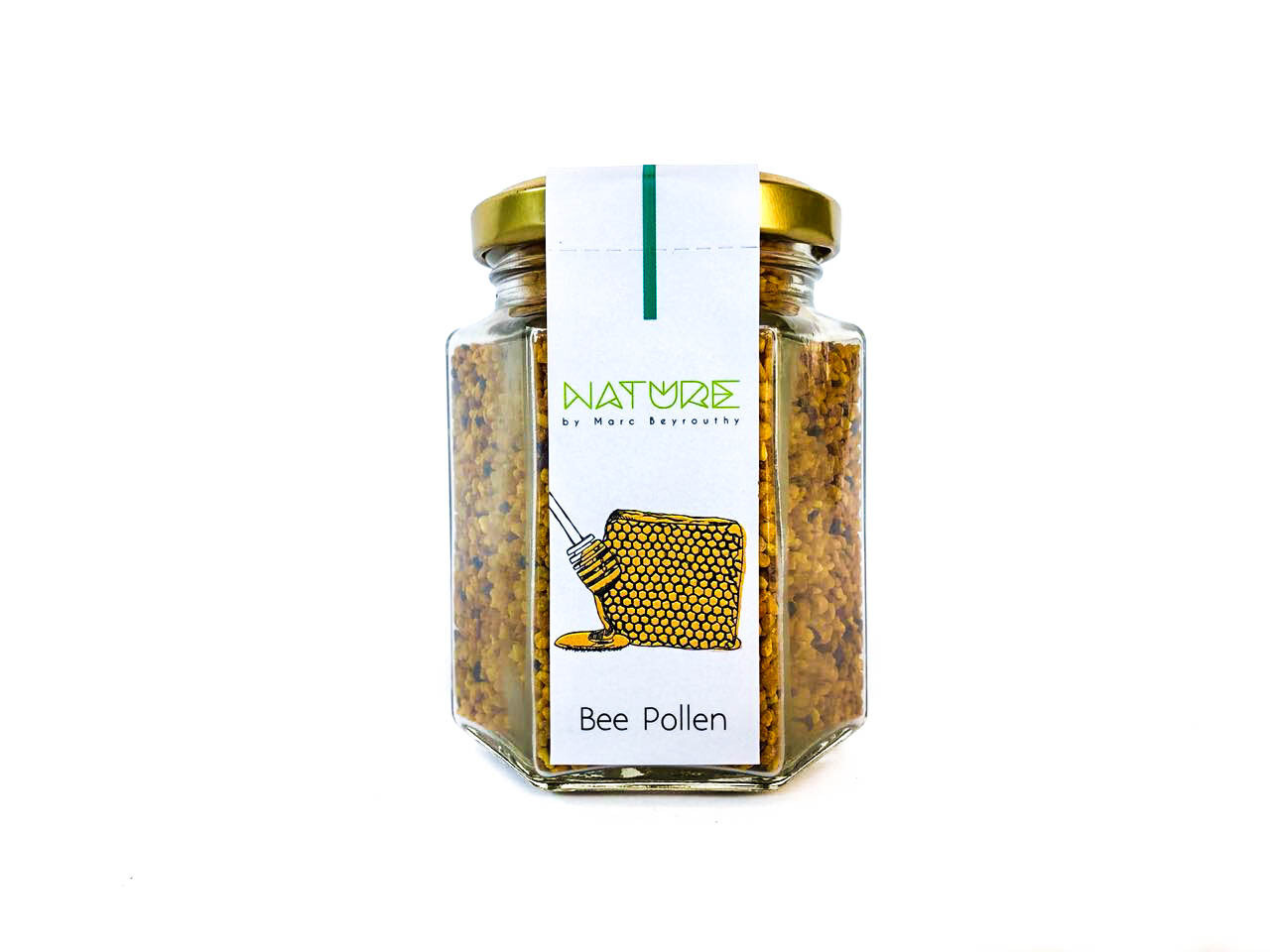 Bee Pollen لقاح النحل (Jar) - Nature by Marc Beyrouthy