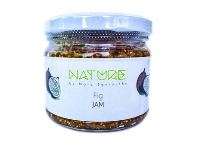 Fig Dried Jam مربى التين المجفف (Jar) - Nature by Marc Beyrouthy