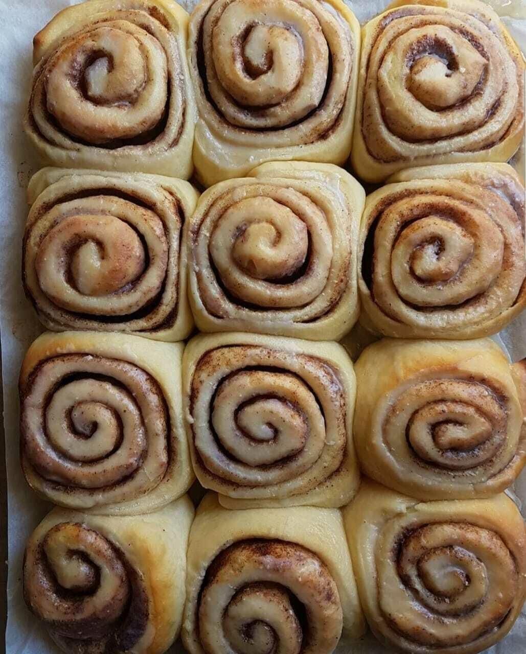 Rolls Cinnamon لفائف القرفة (Pack of 6) - Crafting Delices