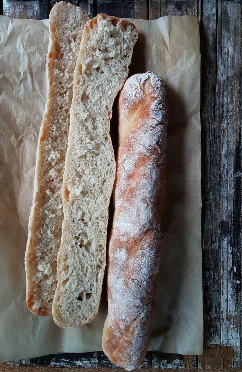 Baguette Rustic Sandwich ساندويتش باغيت روستيك (Pack of 6) - Crafting Delices