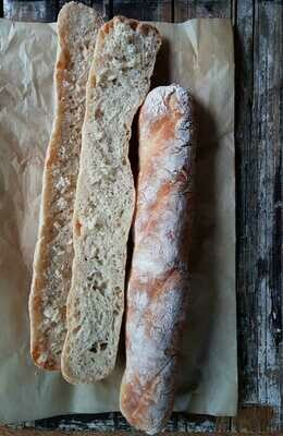 Baguette Rustic Sandwich ساندويتش باغيت روستيك (Pack of 6) - Crafting Delices
