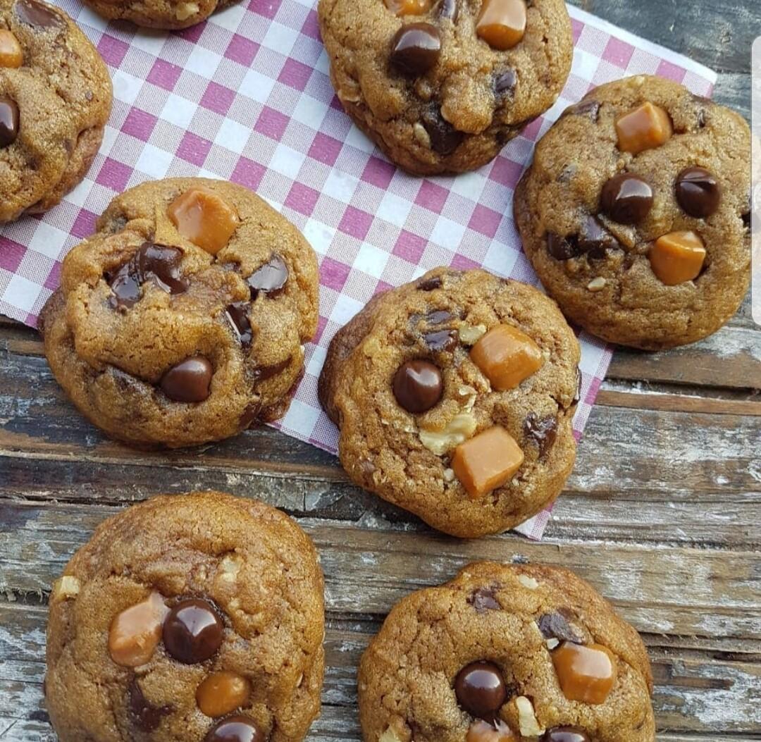 Frozen Caramel Cookies بسكويت الكراميل المثلجة (Pack of 6) - Crafting Delices
