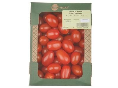 Tomato Plum Organic بندورة بلحية عضوية (Pack) - Biomass
