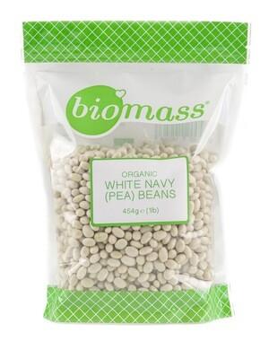 Beans White Navy Organic فصوليا عضوية بيضاء (Bag) - Biomass