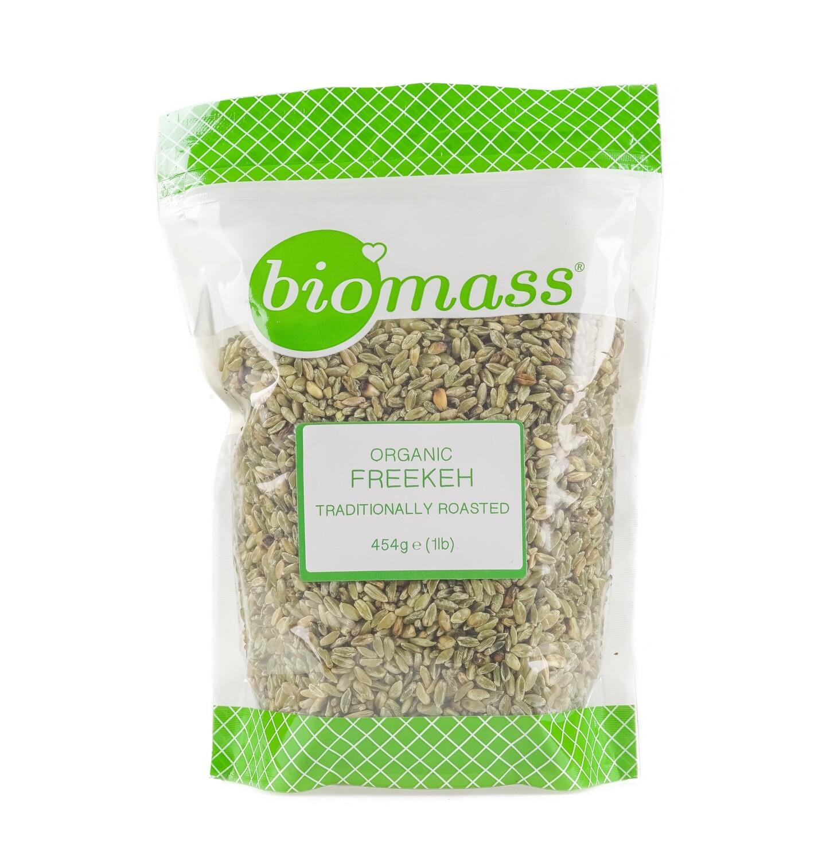 Freekeh Organic Roasted Green Wheat فريكة عضوي (Bag) - Biomass