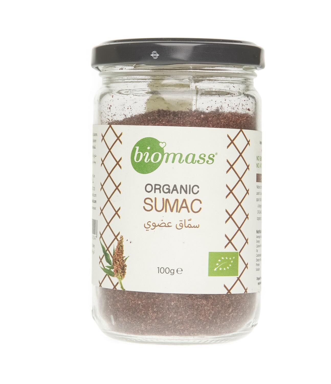 Sumac Organic Dried سماق مجفف عضوي (Jar) - Biomass