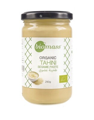 Tahini Organic طحينة عضوية (Jar) - Biomass
