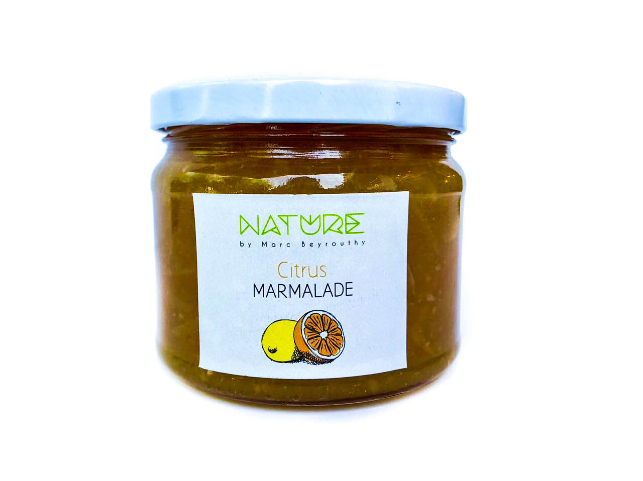 Marmalade Jam مربى البرتقال (Jar) - Nature by Marc Beyrouthy