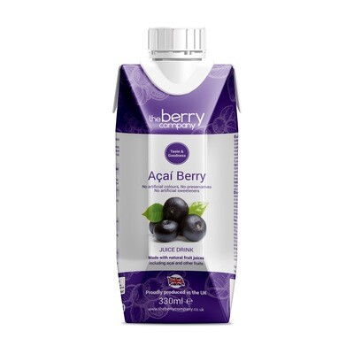 Acai Juice عصير توت الأسود (Bottle) - The Berry Company