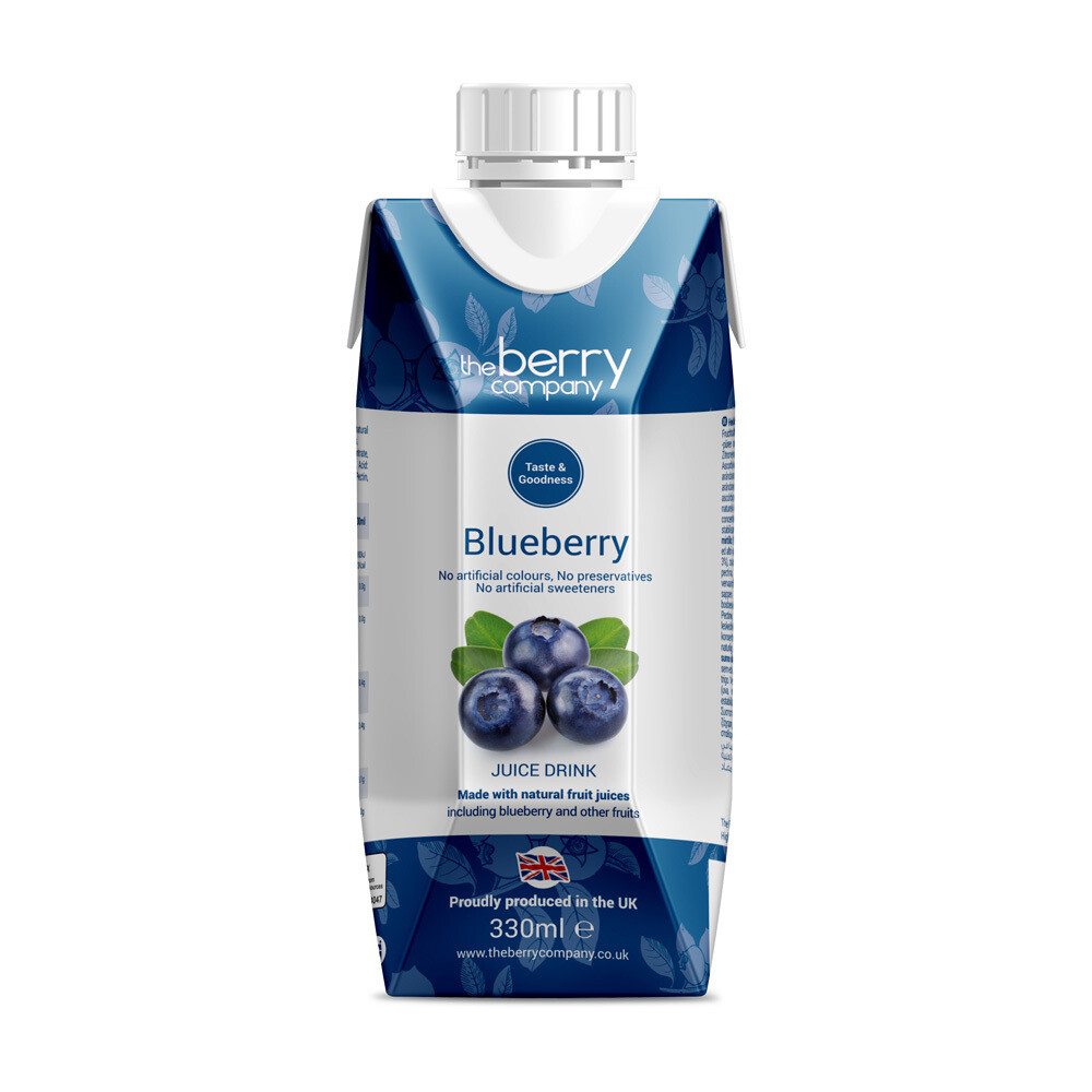 Blueberry Juice عصير توت (Bottle) - The Berry Company