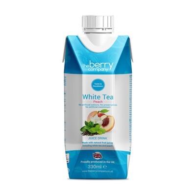 White Tea and Peach Juice شاي أبيض وعصير خوخ (Bottle) - The Berry Company