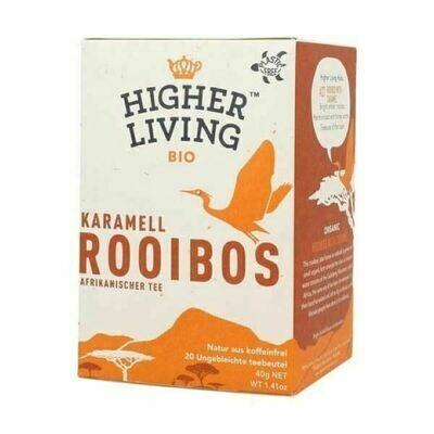 African Roobios Caramel Tea شاي روبيوس كراميل أفريقية (Box) - Higher Living Organic