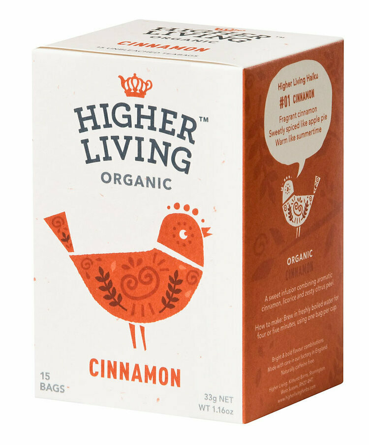 Cinnamon Enveloped Tea شاي مغلف بالقرفة (Box) - Higher Living Organic