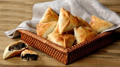 Spinach Wraps فطاير سبانغ (Pack) - Fekra Beytoutiyeh