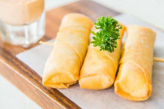 Cheese Rolls لفائف الجبن (Pack) - Fekra Beytoutiyeh
