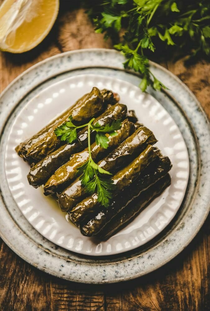 Wrapped Vine Leaves Vegetarian  قاطع  ورق عريش (Pack) - Fekra Beytoutiyeh