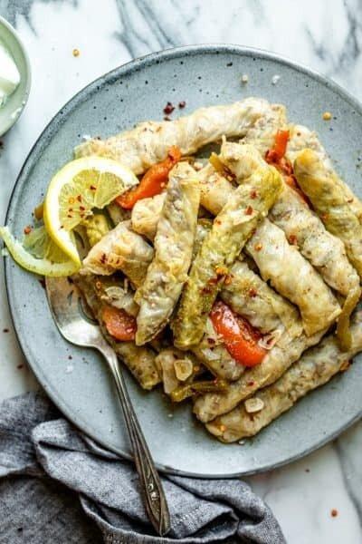 Wrapped Cabbage Leaves قاطع محشي ملفوف (Pack) - Fekra Beytoutiyeh