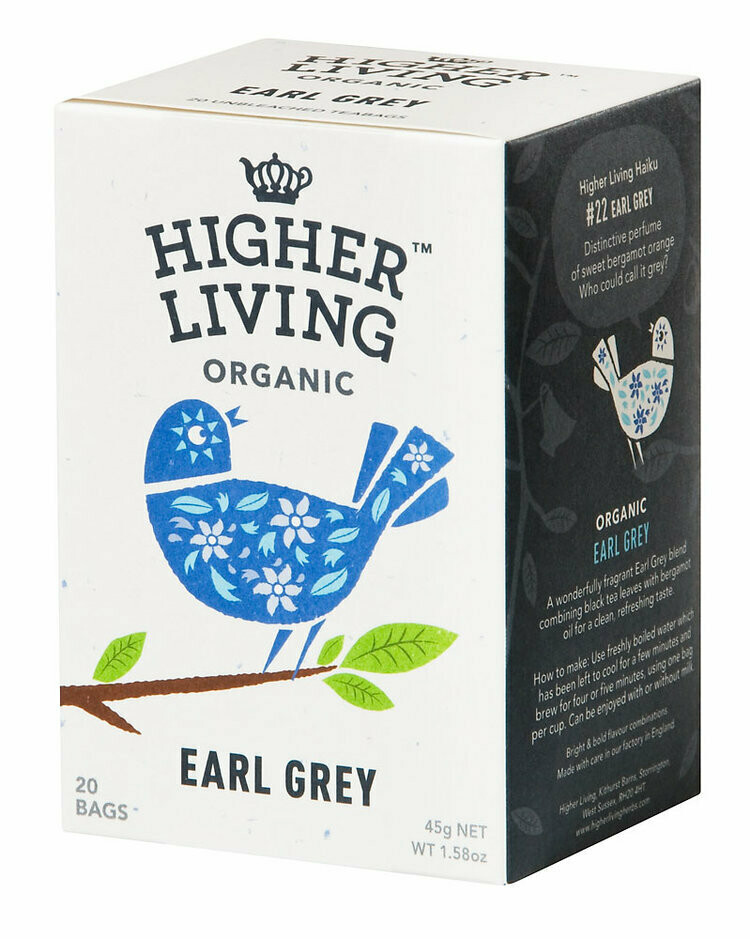 Earl Grey Tea  شاي إيرل جراي (Box) - Higher Living Organic