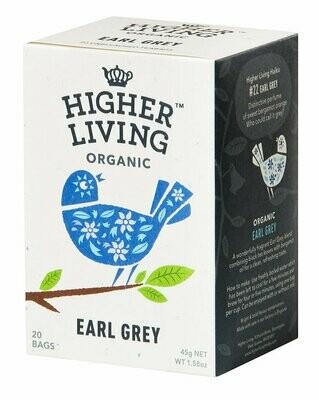 Earl Grey Tea  شاي إيرل جراي (Box) - Higher Living Organic