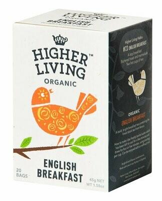 English Breakfast Tea  وجبة الإفطار شاي الانجليزية (Box) - Higher Living Organic