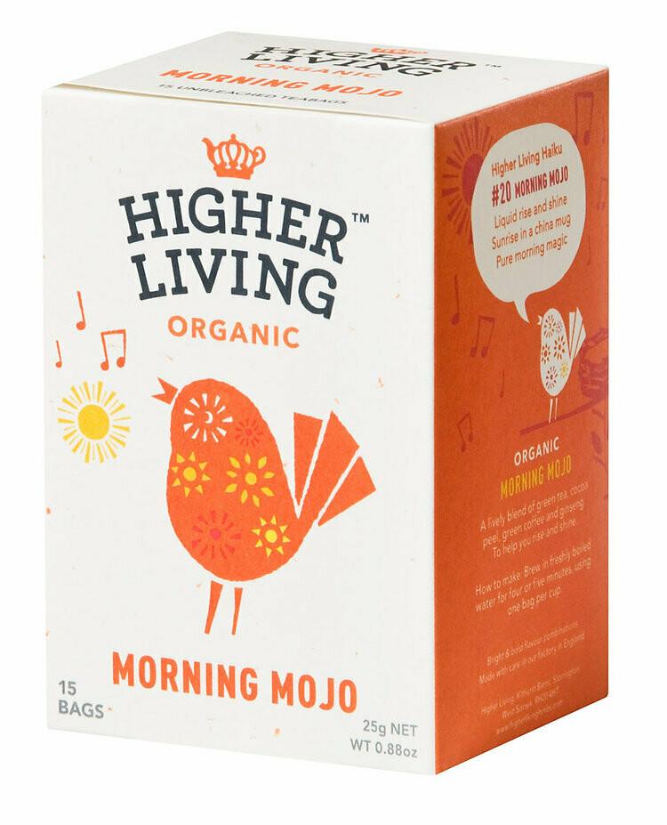 Morning Mojo Tea شاي موجو الصباحي (Box) - Higher Living Organic