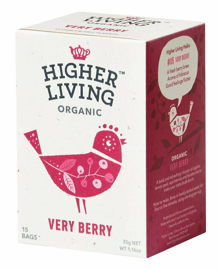 Very Berry Tea شاي بيري جدا (Box) - Higher Living Organic