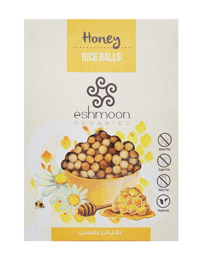 Rice Balls Honey كرات عسل بالرز (Pack) - Eshmoon