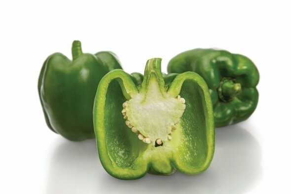 Sweet Pepper فليفلة حلوة (Kg) - The Green Van Permaculture