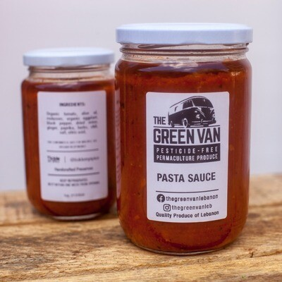 Pasta Sauce صلصة المعكرونة (Jar) - The Green Van Permaculture