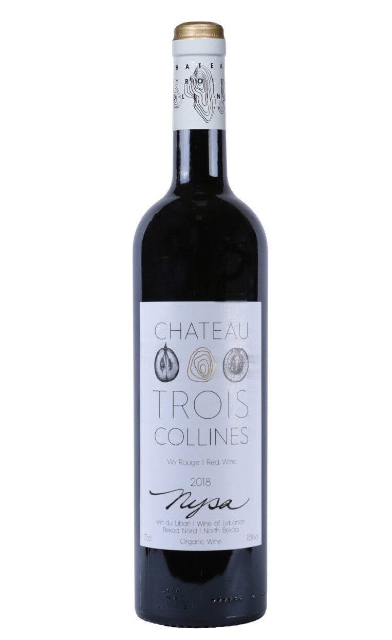 Nysa Red 2018 Organic Wine (Bottle) - Chateau Trois Collines