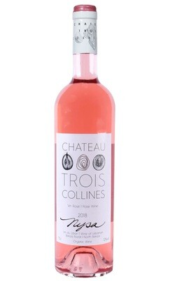 Nysa Rose Organic Wine (Bottle) - Chateau Trois Collines