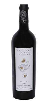 Chateau Trois Collines Red 2017 Organic Wine (Bottle)