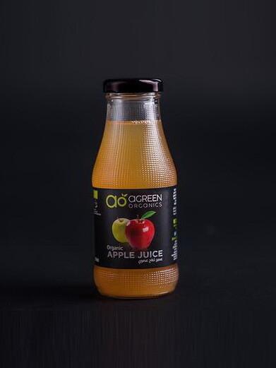 Apple Juice Organic عصير التفاح (Bottle) - Agreen Organics
