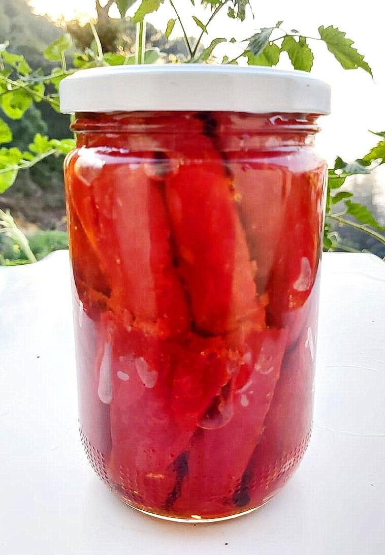 Pickled Pepper كبيس فليفلة (Jar) - Les Reserves du Grenier