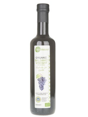 Vinegar Balsamic of Modena Organic خل بلسمي عضوي مودينا (Bottle) - Biomass