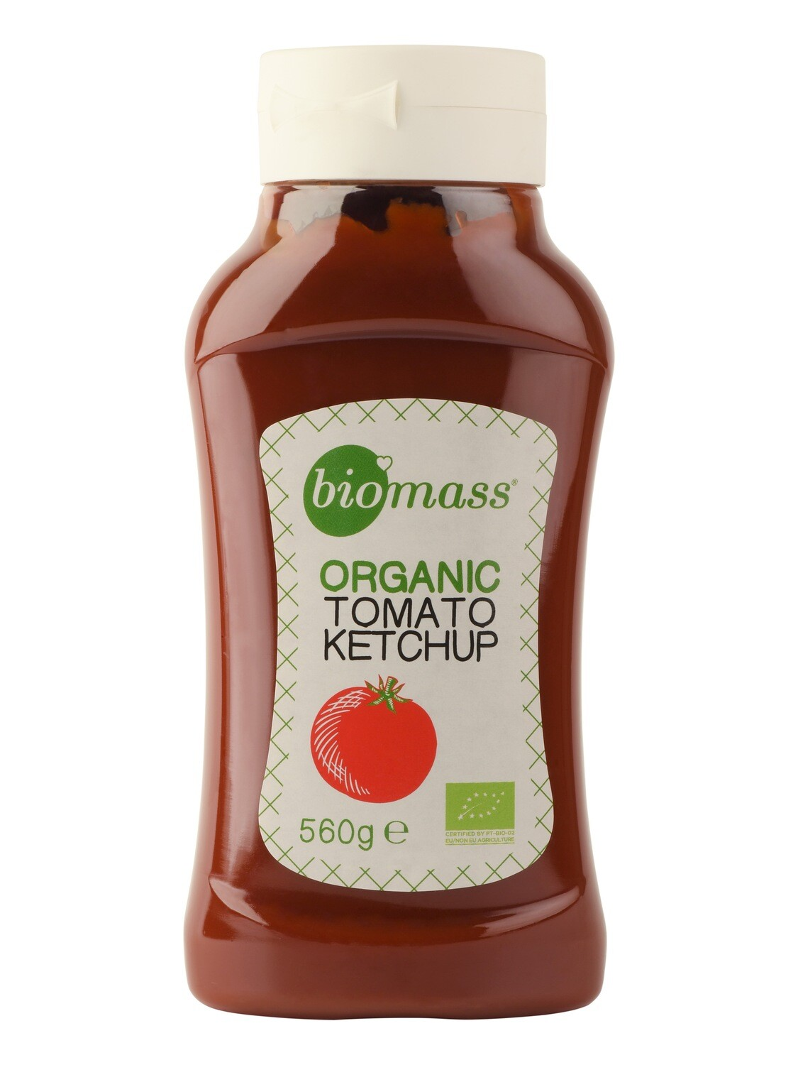 Ketchup Tomato Organic كاتشب عضوي (Bottle) - Biomass