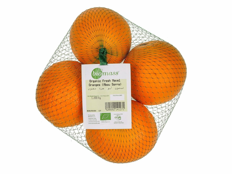 Orange Navel Organic / Abou Sorra ليمون أبو صرة عضوي (Bag) - Biomass