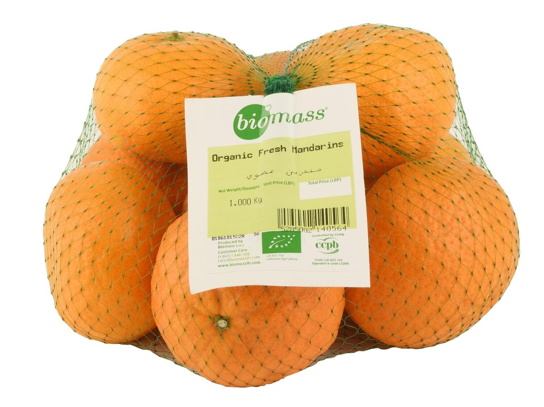 Mandarins Organic مندرين عضوي (Bag) - Biomass