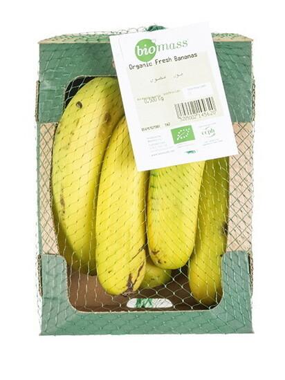 Banana Organic موز عضوي (Box) - Biomass